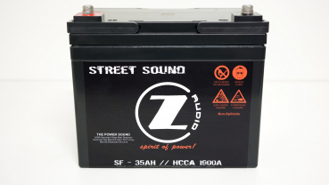 CZ Audio Street Sound AGM Batterie SF - 35AH / / HCCA 1900A